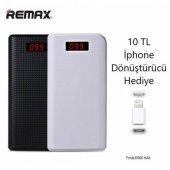 Remax Proda 30000 Mah Powerbank + 2 Usb Çıkışlı + Dijital Göstergeli + Lambalı Ppl 14 Güç Bankasi