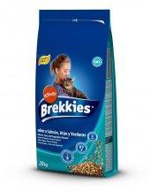 Brekkies Mix Somonlu Ton Balıklı Yetişkin Kedi Maması 20 Kg