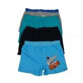 Koza Erkek Çocuk Renkli Desenli Boxer 3 Lü Paket