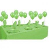 25 Kişilik Yeşil Parti Set Yeşil Doğum Günü Seti