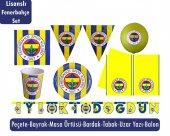 Full Paket 8 Kişilik Fenerbahçe Parti Seti Fenerbahçe Doğum Günü