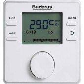Buderus Rc200rf Modülasyonlu Ve Programlanabilir Kablosuz Oda Kumandası