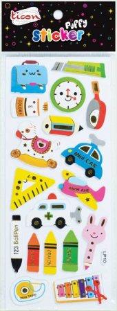 Ticon 138021 Sticker Puffy Tps 8