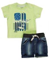 Losan Erkek Bebek Şort T Shirt Takım