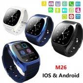 M26 Smart Watch Akıllı Saat Xiaomi Lg Samsung İphone Uyumlu