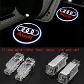 Audi A5 2008 2014 Kapı Altı Led Logo Aydınlatma Ghost Shadow