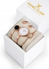 Daniel Klein 8680161759065 Kadın Kol Saati Bileklik Takı Seti