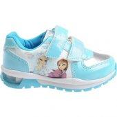 Frozen Işıklı Kız Çocuk Spor Ayakkabı 92162 No 28