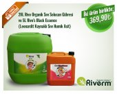 Riverm 20 L Rivo Sıvı Solucan Gübresi 5l Rivos Ranch Sıvı Black