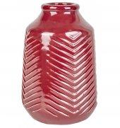 Karaca Berry Vazo 26 Cm Wine