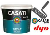 Casati Tavan Boyası 17,5 Kg Rulo Hediyeli