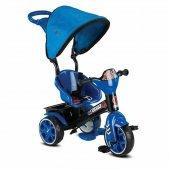 3 Tekerlekli Çocuk Bisikleti Tenteli Ebeveyn Kontrollü