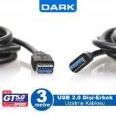 Dark 3m Usb3.0 Uzatma Kablosu Dk Cb Usb3extl300