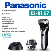 Panasonic Elektrikli Tıraş Makinesi Şarj Edilebilir Es Rt57 S503