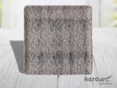 Keramika Kare Servis Tabağı 24cm Mat Transparan Be