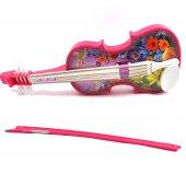 Oyuncak Dünyası Violin Pilli Pembe Keman