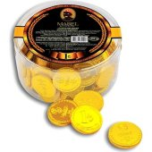 Mabel Sütlü Para Çikolata Altın Çikolata (1) 250 Gr 83 Adet