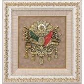 Osmanlı Devlet Arması Tablo Çerçeve 60x65 Cm