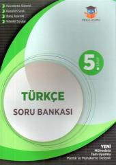 5. Sınıf Türkçe Soru Bankası Zeka Küpü Yayınları