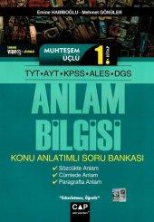Tyt Ayt Kpss Ales Dgs Muhteşem Üçlü 1. Kitap Anlam Bilgisi Çap