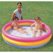 Bestway Şişme Havuz Tabanı Şişme 3 Boğumlu 152cm X 30cm Bestway 51103 Balkon Teras Çim Oyun Havuzu