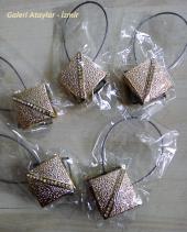 Mıknatıslı Perde Mandalı Perde Tokası Altın Dore (5 Adet Fiyatıdır)