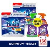 Finish Quantum 160 Tablet Bulaşık Deterjanı+cilit Bang Set