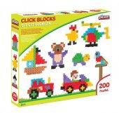 Eğitici Oyuncaklar Pilsan 200 Parça Çıt Çıt Bloklar