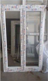 120x150 Orpen Tek Cam Çift Kanat Pencere