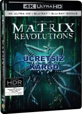 Matrix Revolutions 4k Ultra Hd+blu Ray+bonus 3 Disk