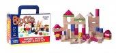 Eğitici Oyuncaklar Blocco 77 Parça Ahşap Bloklar