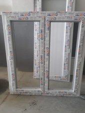 130x140 Orpen Çift Cam,çift Kanat Pencere
