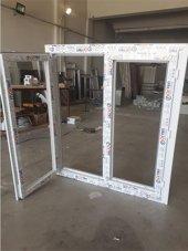 130x150 Orpen Tek Cam,çift Kanat Pencere