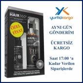 Hair 360 Men Sprey 50ml + Hair 360 İntensive Hair Loss Shampoo