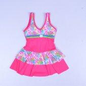 Sam Kız Çocuk Elbise Mayo Bikini 23013