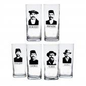 Joy Glass 6 Lı İçelim Kabadayılar Rakı Bardağı Set...