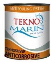 Teknomarin Teknosilver Anticorrosive Zehirli Boya Astarı 3 Kg