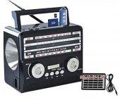 Radyo Şarjli Solar El Feneri � Fm Usb Sd Kamal Km 1360