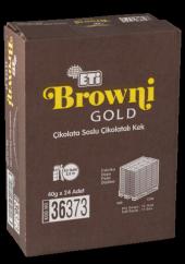 Eti Browni Gold Kakao Soslu Çikolatalı Kek 45 Gr (24 Adet)