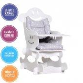 Alkur Home Zuzu Sallanan Bebek Mama Sandalyesi Kem...