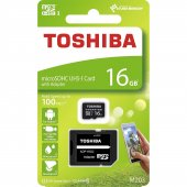 Toshiba 16gb 100mb Sn Microsdhc Uhs 1 Class10 Exce...