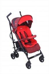 Kraft London Plus Baston Bebek Arabası Kırmızı