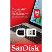 Sandisk Cruzer Fit 64gb Usb Bellek (Sdcz33 064g B35)