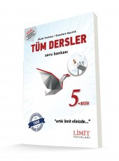 Limit Yayınları 5. Sınıf Tüm Dersler Soru Bankası Yeni