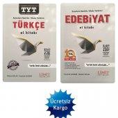 Limit Yayınları Yks Tyt Türkçe Ve Aty Edebiyat El Kitabı 2019