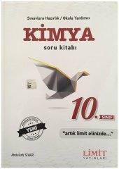 Limit Yayınları 10. Sınıf Kimya Soru Bankası Kitabı