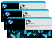 Hp B6y34a (771c) Sarı 3 Lu Paket 775 Ml Genıs Format Murekkep Kar
