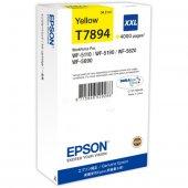 Epson C13t789440 Wf 5000 Series Ink Cartridge 79xxl Yellow,workfo