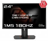 24 Asus Pg248q Gaming, Led, G Sync 1920x1080 1ms, 180hz 3yıl Disp