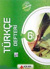6.sınıf T&uumlrk&ccedile Defteri A&ccedilık Ara Yayınları